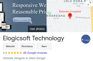 Elogicsoft.com - Web designing review by  google